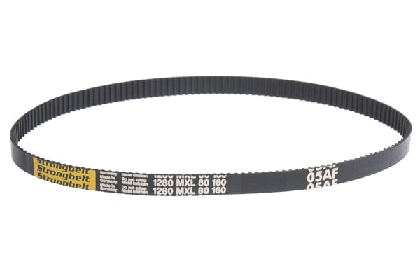 Product image for MXL Rubber Timing Belt W1/4, L 12.80 in.