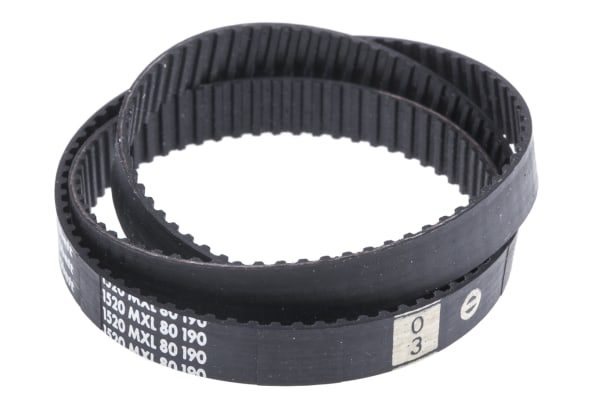 Product image for MXL Rubber Timing Belt W1/4, L 15.20 in.