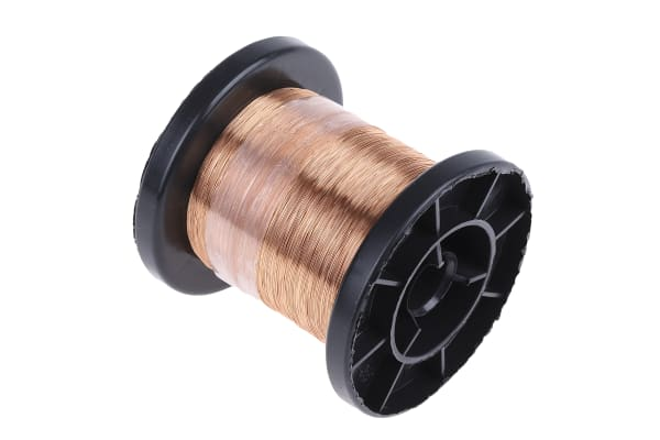 Product image for ENAMELLED COPPER WIRE 0,15MM 100GR
