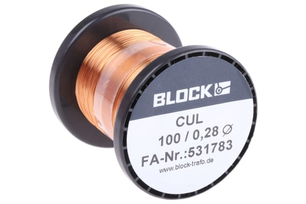 Product image for ENAMELLED COPPER WIRE 0,28MM 100GR