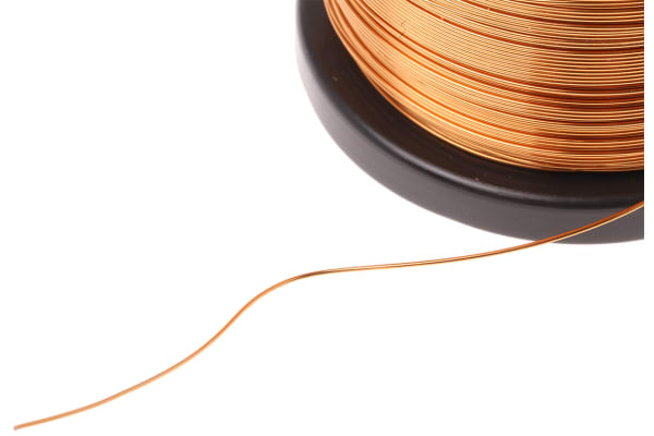 Product image for ENAMELLED COPPER WIRE 0,5MM 500GR