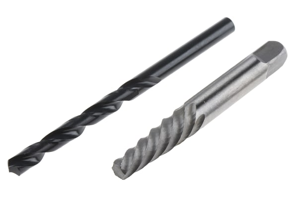 Product image for 2 PC Screw Ext./Drill Wallet NO.5+6.8mm