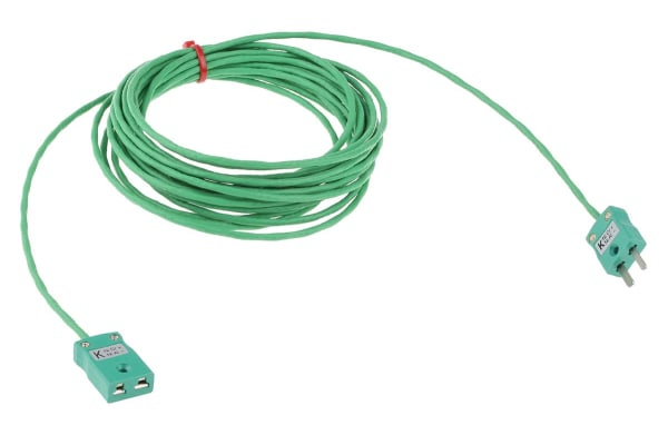 Product image for K PFA/SSOB/PFA EXTENSION LEAD MINI 5M