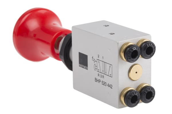 Product image for PTO Control Valve Push-Pull 4mm,4/2