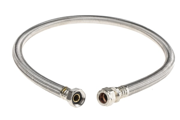 Product image for 15mmX1/2X90cm  Flexi Tap Connector Long