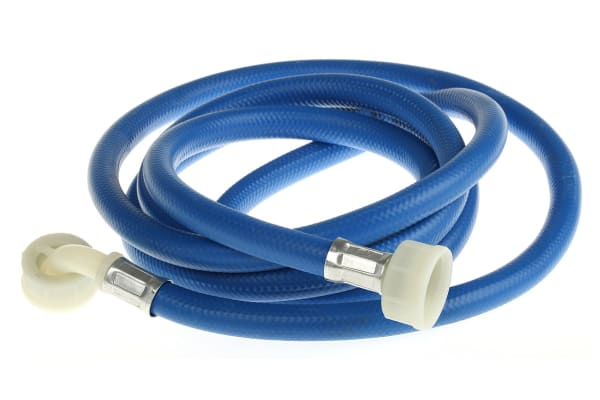 Product image for 2.5m Washing machine hose blue