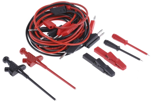 Product image for 4mm system test lead set