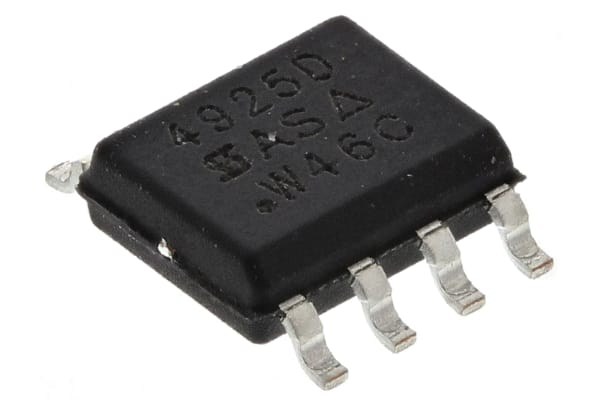 Product image for MOSFET DUAL P-CH 30V 7.3A TRENCHFET SO8