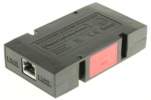 Product image for CAT-6 ETHERNET SURGE UNIT