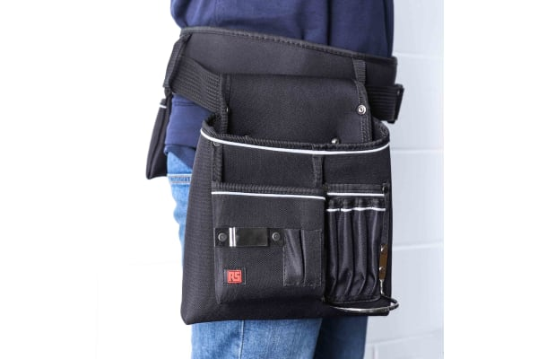 Product image for Tool Belt with Holster & Pouch