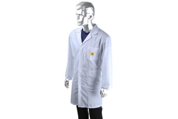 Product image for ESD Unisex Lab Coat, XX Large