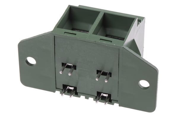 Product image for 2 way PCB terminal block 15.0mm