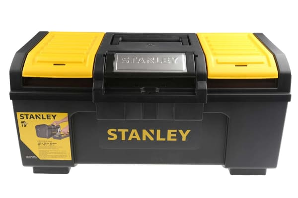 """Product image for 19"""" Stanley One Touch Toolbox"""