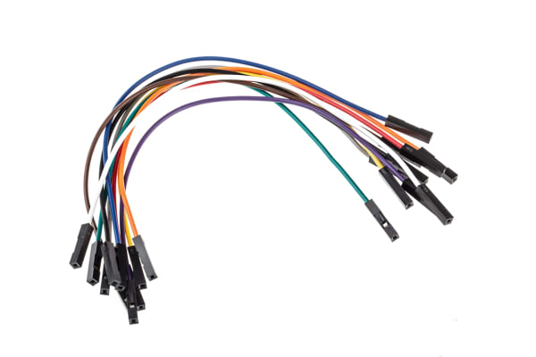 Product image for MIKROE-511, 10 piece Breadboard Jumper Wire Kit