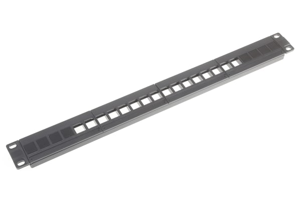 """Product image for Horizontal 19""""Patch Panel 16 Ports"""