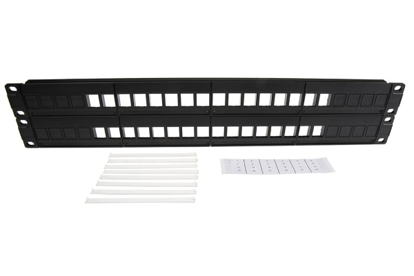"""Product image for Horizontal 19""""Patch Panel 32 Ports"""