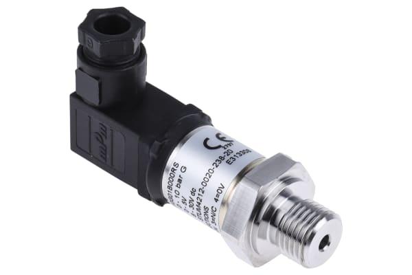 Product image for Gems Sensors Pressure Sensor for Fluid, Gas , 10bar Max Pressure Reading Voltage