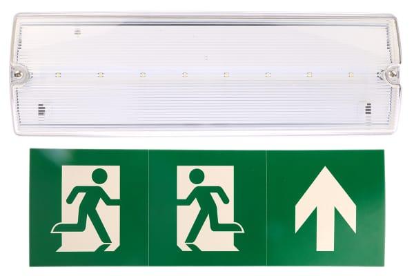Product image for LED 3W emergency bulkhead