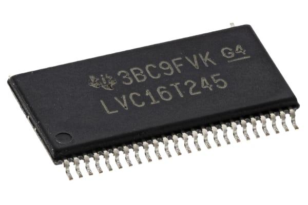 Product image for 74LVC 16-BIT DUAL VS TRANSCEIVER TSSOP48