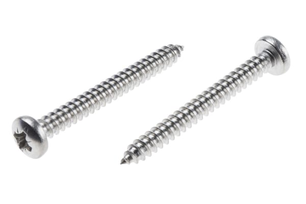 Product image for A2 Cross self tapping screw,8x1.1/2mm
