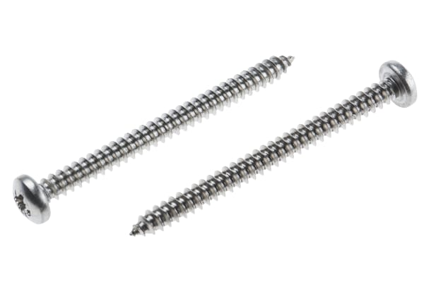 Product image for A2 Cross self tapping screw,8x2mm