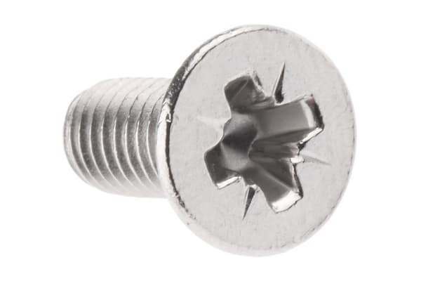 Product image for A2 S/Steel cross csk head screw,M4x10mm
