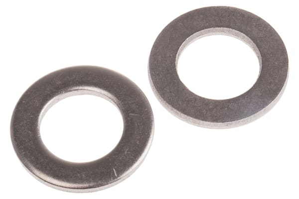 Product image for A4 S/STEEL PLAIN WASHER,M20, FORM A