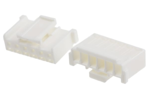Product image for 2.5mm pitch Receptacle Housing 6 way