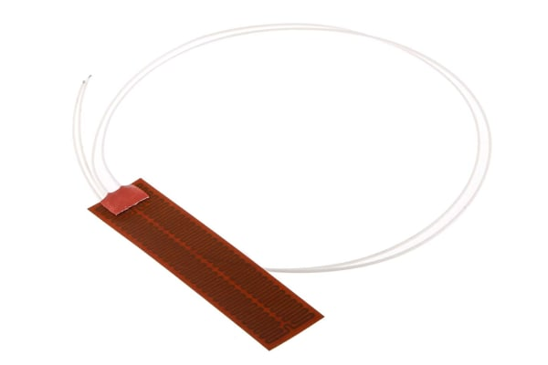 Product image for Kapton Heater mat, 25x100mm, 12V, 4W