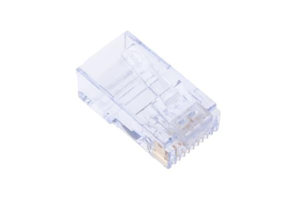 Product image for Modular Plug Cat6 Long Body 8/8 RJ45