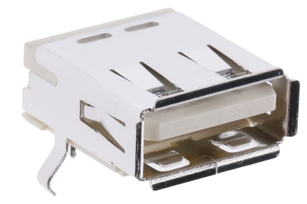 Product image for USB A PCB Receptacle high temperature