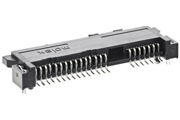 Product image for 1.27MM PITCH SATA HOST RECEPTACLE 22 WAY