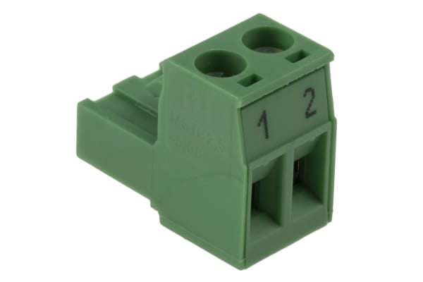 Product image for Phoenix Contact, MSTB 2.5/2-5.08 5.08mm Pitch, 2 Way PCB Terminal Block