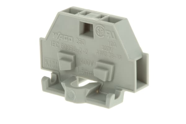 Product image for 0.08 - 1.5mm2 conductor terminal block