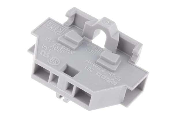 Product image for 0.08 -2.5mm2 conductor terminal block