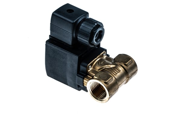 """Product image for 1/2"""" SOLENOID VALVE  10 MM ORIFICE 24VDC"""