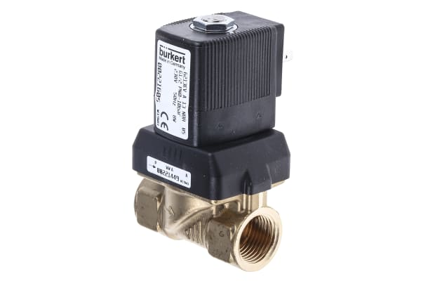 """Product image for 1/2"""" SOLENOID VALVE 13 MM ORIFICE 230VAC"""