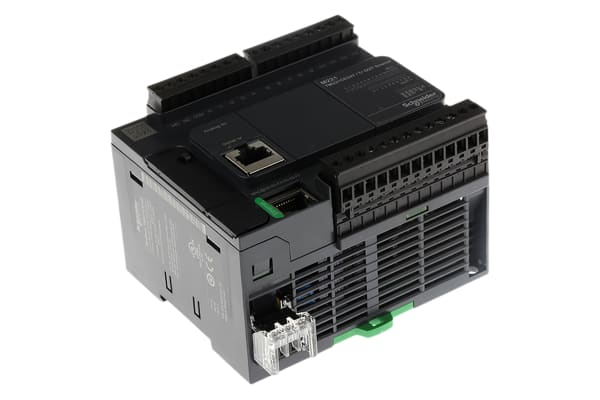Product image for CONTROLLER M221-24IO TR.PNP ETHERNET COM