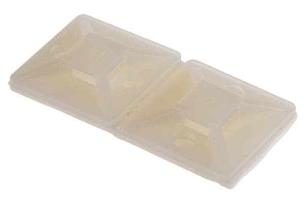 Product image for CableTie mount 19.5x19.5 Natural Nylon66