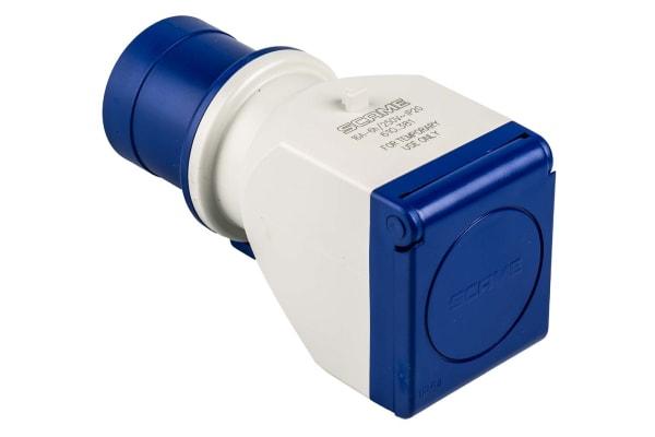 Product image for Adaptor 1 Way IEC309 plug to German Skt