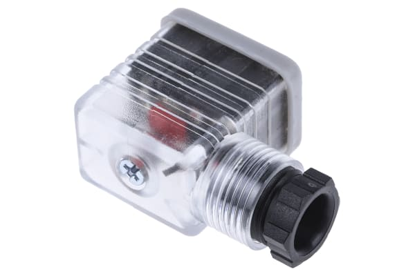 Product image for Socket PG9 LED 2 Pole + Earthing-24VDC