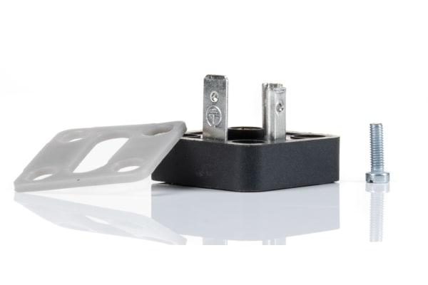 Product image for Flat Plug 3 Pole + Earthing
