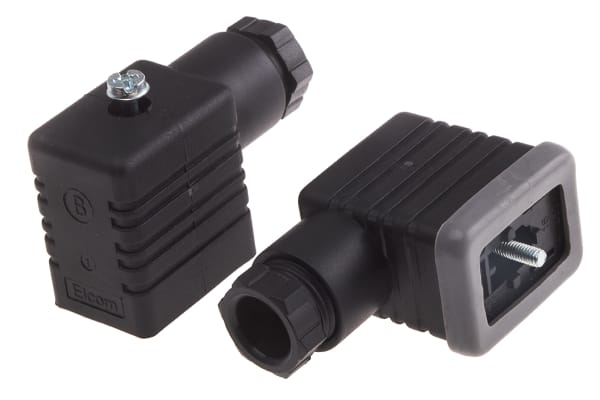 Product image for Socket PG9 2 Pole + Earthing-Black