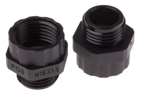 Product image for Cable gland adaptor,PG9x8 - M16x1.5