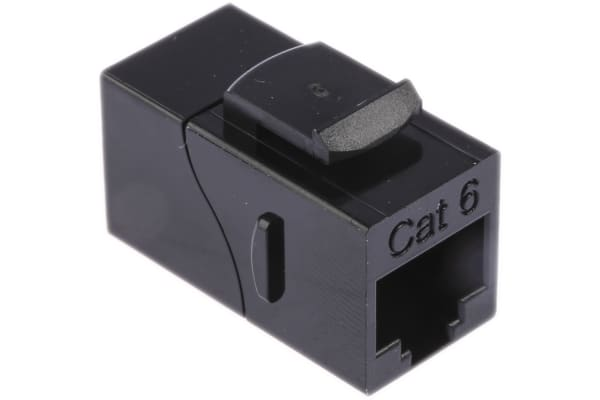 Product image for MH Connectors, MH3101 Cat6 RJ45 Coupler, 1 Port, UTP