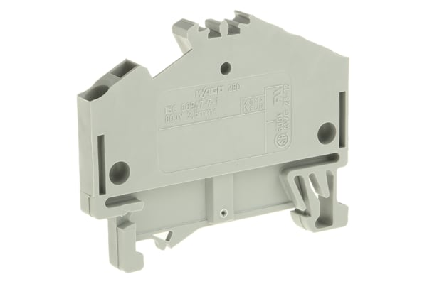 Product image for DIN RAIL BLOCK TERMINAL