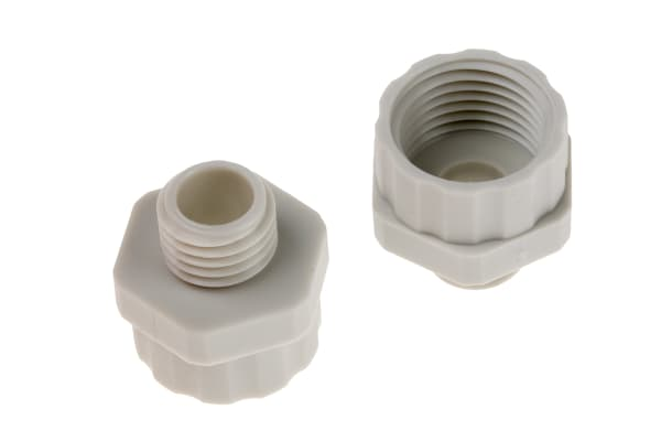 Product image for Enlarger Gland  M12x1.5 to M16x1.5 ,Grey