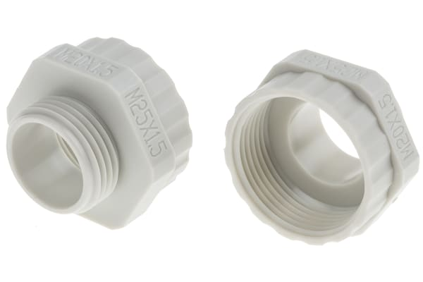 Product image for Enlarger Gland  M20x1.5 to M25x1.5 ,Grey
