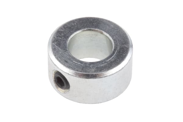 Product image for Steel Shaft Collar, One Piece, Bore 8mm