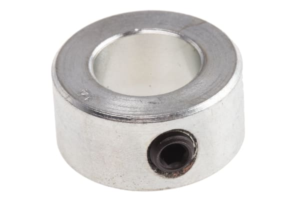 Product image for Steel Shaft Collar, One Piece, Bore 14mm